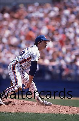 KODACHROME Baseball Slide NY New York Mets Terry Leach PITCHING 1987 1980s