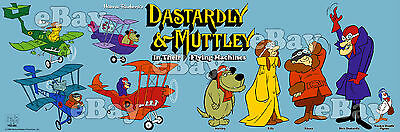 EXTRA LARGE! DASTARDLY & MUTTLEY Panoramic Photo Print HANNA BARBERA Wacky Races