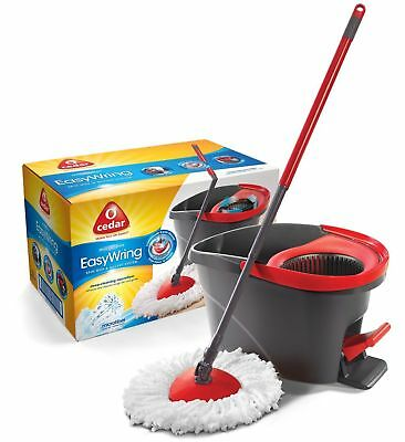O-Cedar Easy Wring Spin Mop & Bucket System Cleaning Tool Mopping Household