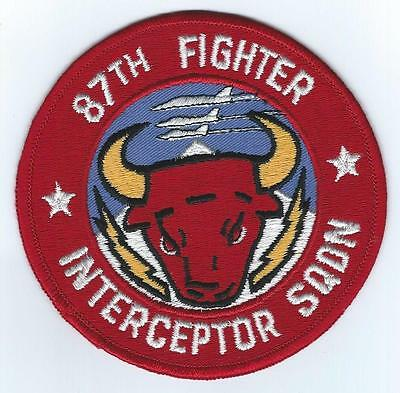 Usaf Patch 87Th Fighter Interceptor Squadron