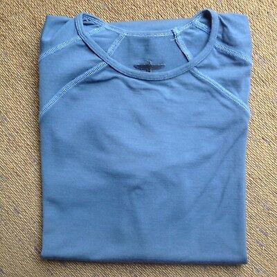Untouched World New Zealand Mens Merino Wool Thermal Top