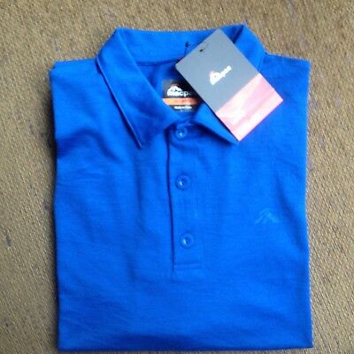Mac Pac Mens Merino Wool Polo Shirt Size Xxl