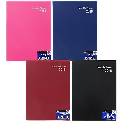 2018 Monthly planner 5.25 x 7.5-in
