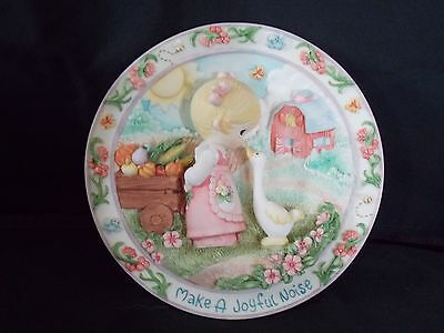 Precious Moments - Make A Joyful Noise - 3D Plate