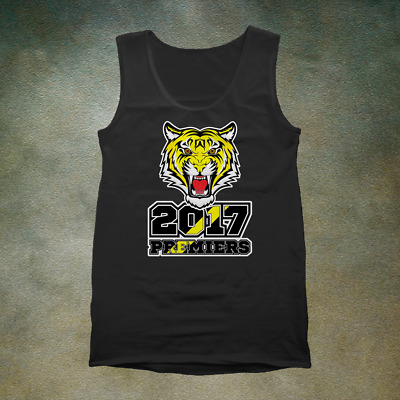 Richmond Tigers 2017 Premiers Singlet - Grand Final Australian Football Footy