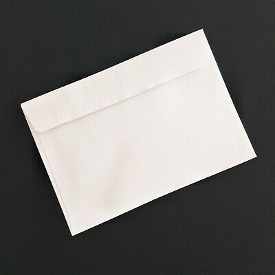 10 / 20 / 50 x C6 Envelopes White 114 x 162mm 100GSM Lick & Stick FREE SHIPPPING