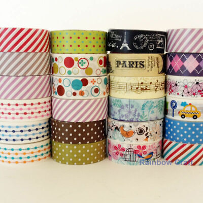 $2.9 for 3 Washi Tape or $2 for a big single roll 15mm * 2.5m each roll