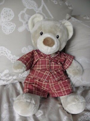 Print pyjamas to fit Pumpkin Patch teddy bear boys 15 inch Build a bear clothes