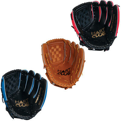 Hart Club Fielders Glove - High Quality Pu Leather Palm - Mesh Back