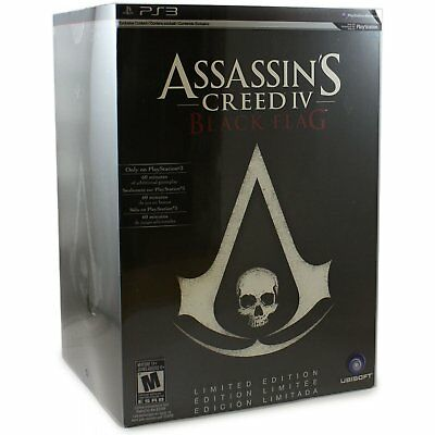 Assassin's Creed IV: Black Flag Limited Edition Box Steelbook PS3 - Brand New