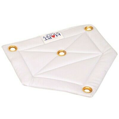 """Hart Vinyl Home Plate - 1/2 """" Thick, Quality Made Vinyl Plate (5-985)"""
