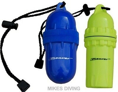 dry CANISTER with Lanyard for beach / pool dry case beaver NEW