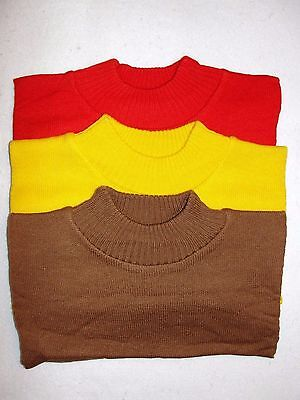 Set of 3 Mock Neck Knit Neck Dickies - New in Packages
