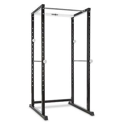 Klarfit Power Rack 15 Way Adjustable Barbell 90 Cm Pull Up Bars 2 Security Brace