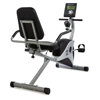 Capital Sports Ergometer 4Kg Flywheel Pulse Sensor Trainer Program Bike Gym Grey