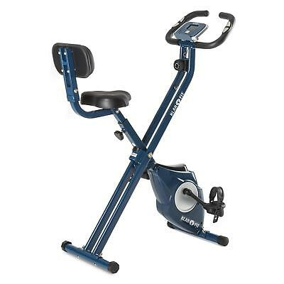Capital Sports Bicycle Fitness Bike Machine Home Gym Folding Adjustable Computer