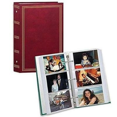 Photo Album 4X6 500 Photos Organizer Wedding Baby Family Pictures Memory Storage