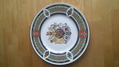 Royal Worcester Limited Edition Commemorative Plate Charles Lady Diana wedding