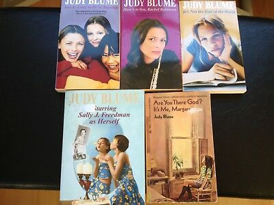 Judy Blume teen books . Lot of 5 including 1983 Are you there Margaret