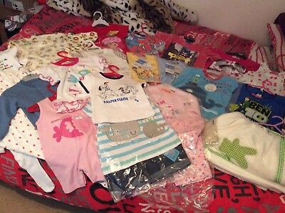 Joblot Bundle Of Baby's Childrens Clothes New Carboot Market