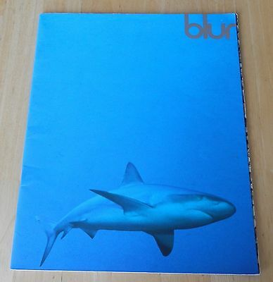 Blur programme from 1995.