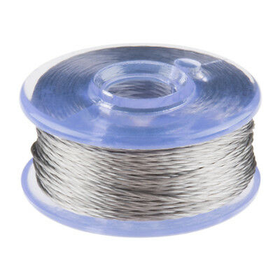 Conductive Thread Bobbin - 12m (Smooth, Stainless Steel) SparkFun