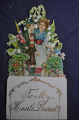 To My Hearts Dearest Victorian Card