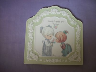 Precious Moments Decorative Collectible wall plaque