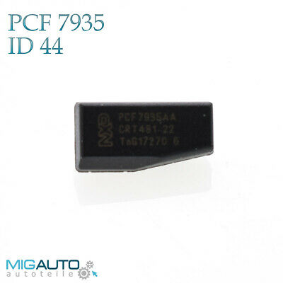 ID44 VW Transponder Wegfahrsperre PCF7935 AA Crypt Chip BMW Mercedes Volkswagen