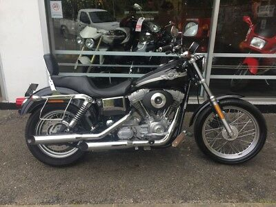 Harley Davidson Fxd Dyna Super Glide 1450Cc 100Th Anniversary Sceaming Eagle