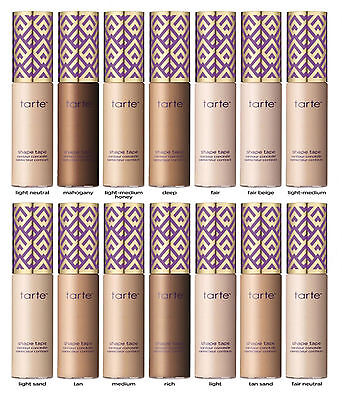 Authentic Tarte Shape Tape Contour Concealer 10ml Different Shades FAST DISPATCH
