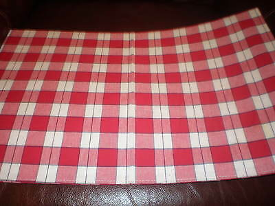 Longaberger Tea Basket Liner - Picnic Plaid