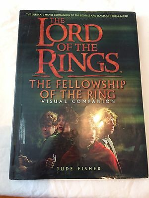 The Lord Of The Rings: The Fellowship Of The Ring Visual Companion Book