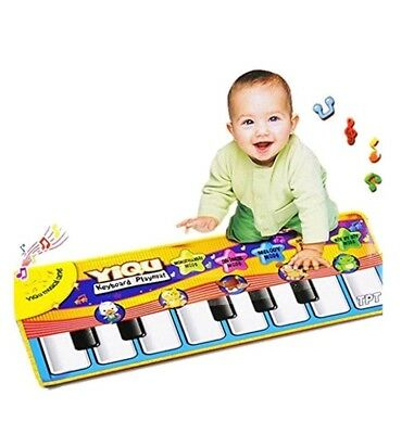 Musical Music Kid Piano Play Baby Mat Animal Educational Soft Kick Toy Baby Gift