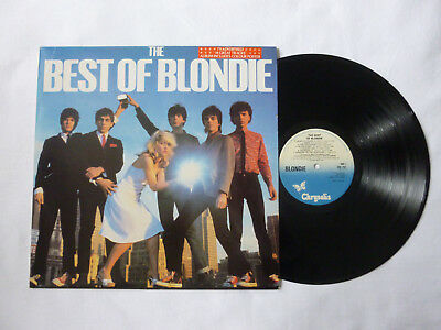 Blondie ~ The Best Of ~ Cdl Tv1 ~ Original 1981 Uk New Wave Vinyl Lp ~ Top Audio