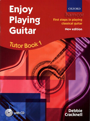 Enjoy Playing Guitar Tutor Book 1 +CD Debbie Cracknell