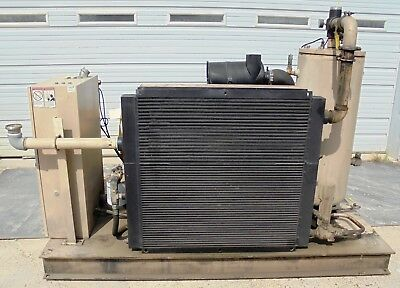 Curtis Rotary Screw Air Compressor, Rs75D A/e E25G 2.704, Hp 75, Cfm 365, 2005