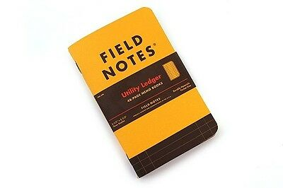 FIELD NOTES Yellow Utility A6 Notebook Pad