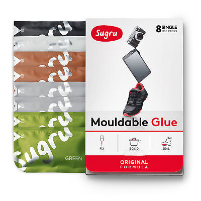 Sugru Mouldable Glue - Original Formula - Natural Colours (8-pack)