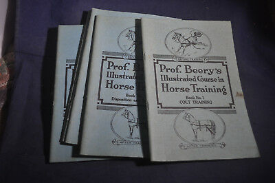 1944 Professor Beery's Illustrated Course in Horse Training *8 Volumes COMPLETE*