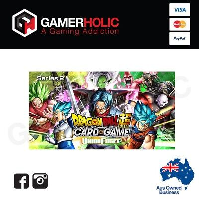 Dragon Ball Union Force Super Card Game Booster Box Pack Brand new IN STOCK