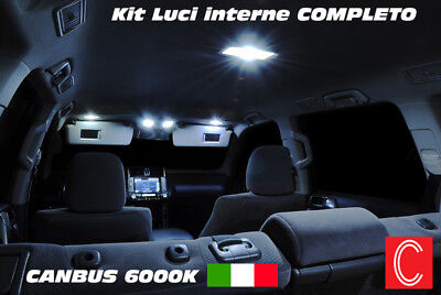 Kit Led Interni Golf 6 Vi Conversione Completa + Luci Anti Pozzanghera Canbus
