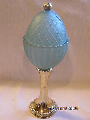 Decorative Covered Frangranced Candle Holder by Avon