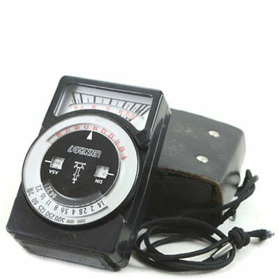 Leningrad 7 USSR Vintage Exposure Light Meter + Case XLNT