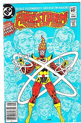 Fury Of Firestorm #1 & 2 / 1982 / Gerry Conway / 1St Appearance Black Bison