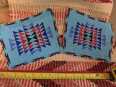 Superb VINTAGE NORTHERN PLAINS BEADED CUFFS