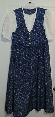 Ladies modest nursing dress - Vested Dress - Size M - Lilies of the Field style