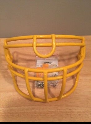 New Bike Football Face Mask Yellow With Hardware!!