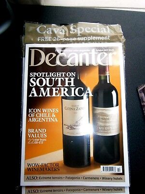 Decanter Magazine October Issue 2017 (new) Free 26 Page Supplement