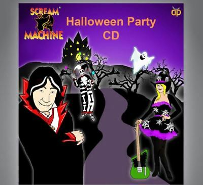 Halloween Party Cd Family Fun Games Ghost Stories Jokes Music Kids Mildy Scary